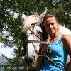 Красивое фото с лошадью.