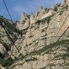 Фуникулерная дорожка на вершину Монтсеррата!