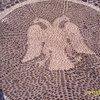 Мозаика с двуглавой птицей