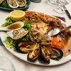 Морские деликатесы, в ресторане .  Турин