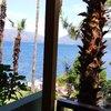 Вид с балкона отеля)