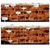 Візуалізація життя підземного міста Дерінкую.