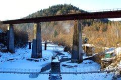 Железнодорожный мост в Яремче