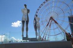 Cкульптура Али и Нино