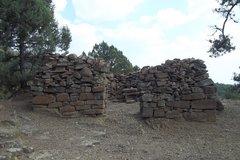 Руины на горе Перчем