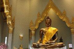 Статуя Золотой Будда