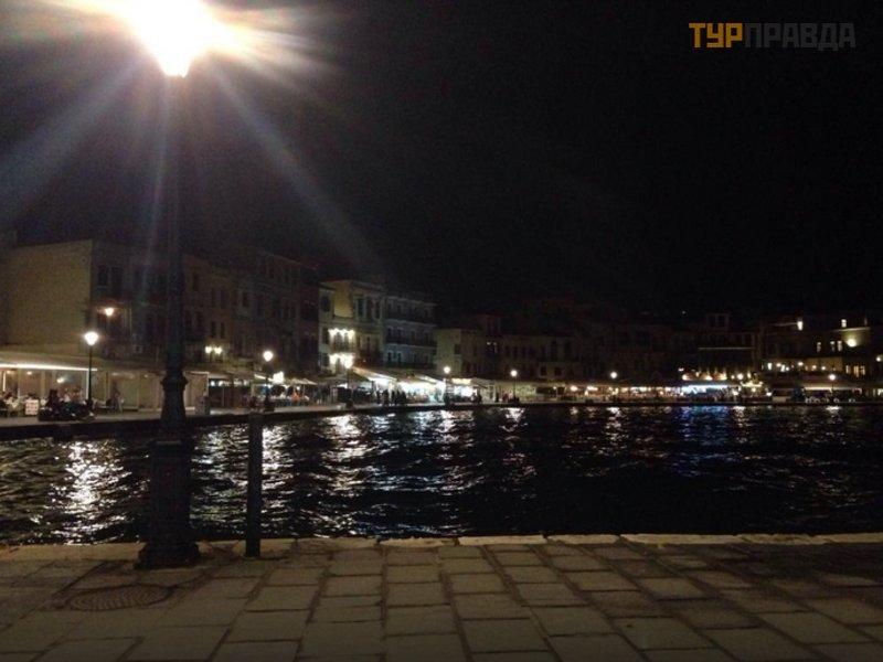 Старый венецианский порт Ханьи