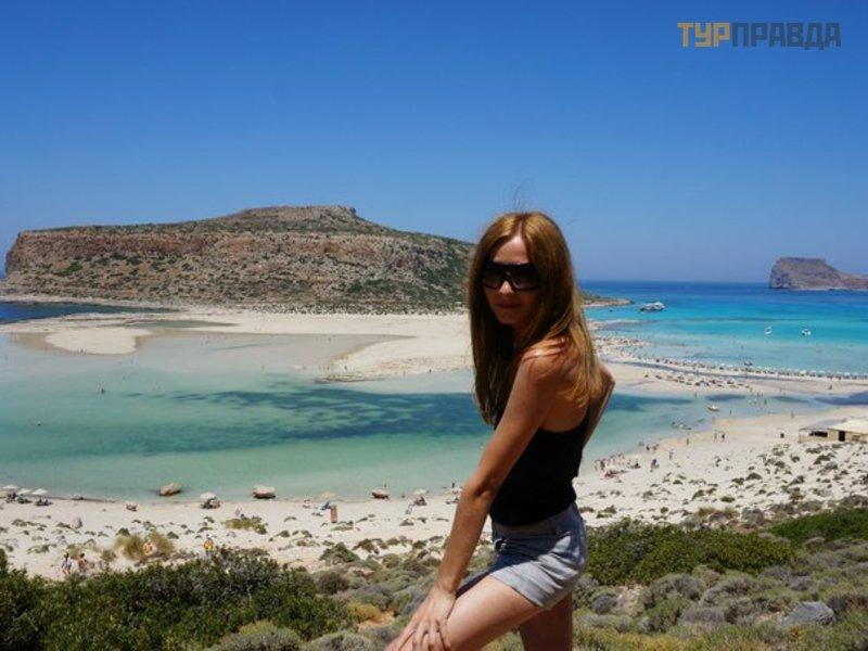 Пляж и бухта Балос