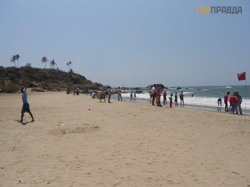 Пляж Чапора