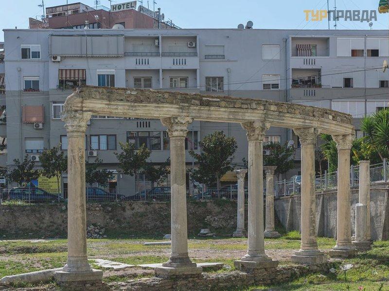 Византийский форум и ротонда в Дурресе