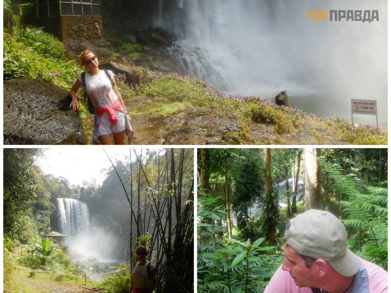 Водопады Дамбри и Дасара