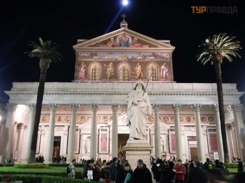 Базилика Сан-Паоло-фуори-ле-Мура