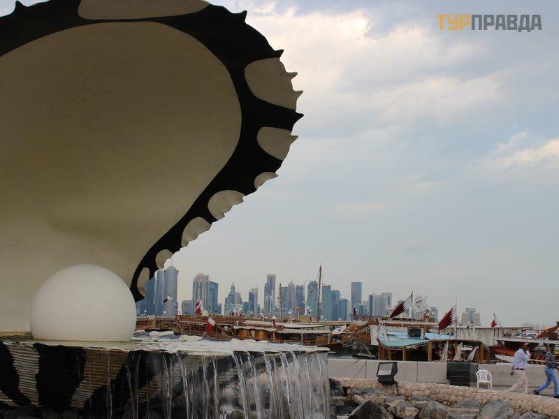 Набережная Корниш в Дохе