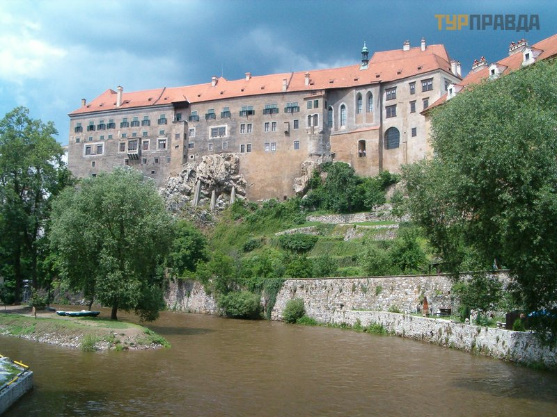 Крумловский замок